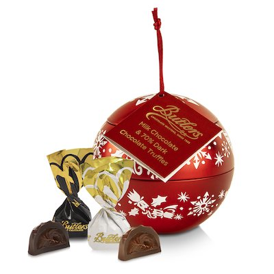 Butlers Red Christmas Decoration with Chocolates