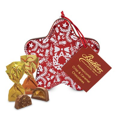 Butlers Gold Christmas Star Decoration