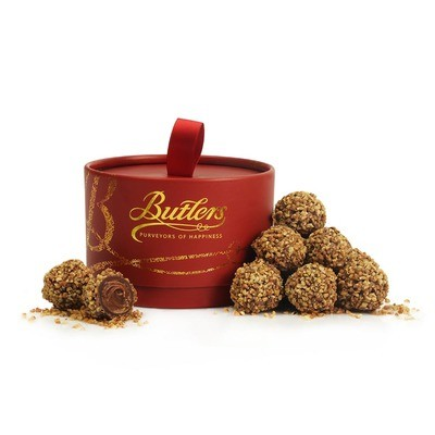 Butlers Red Powder Puff with Hazelnut Truffles