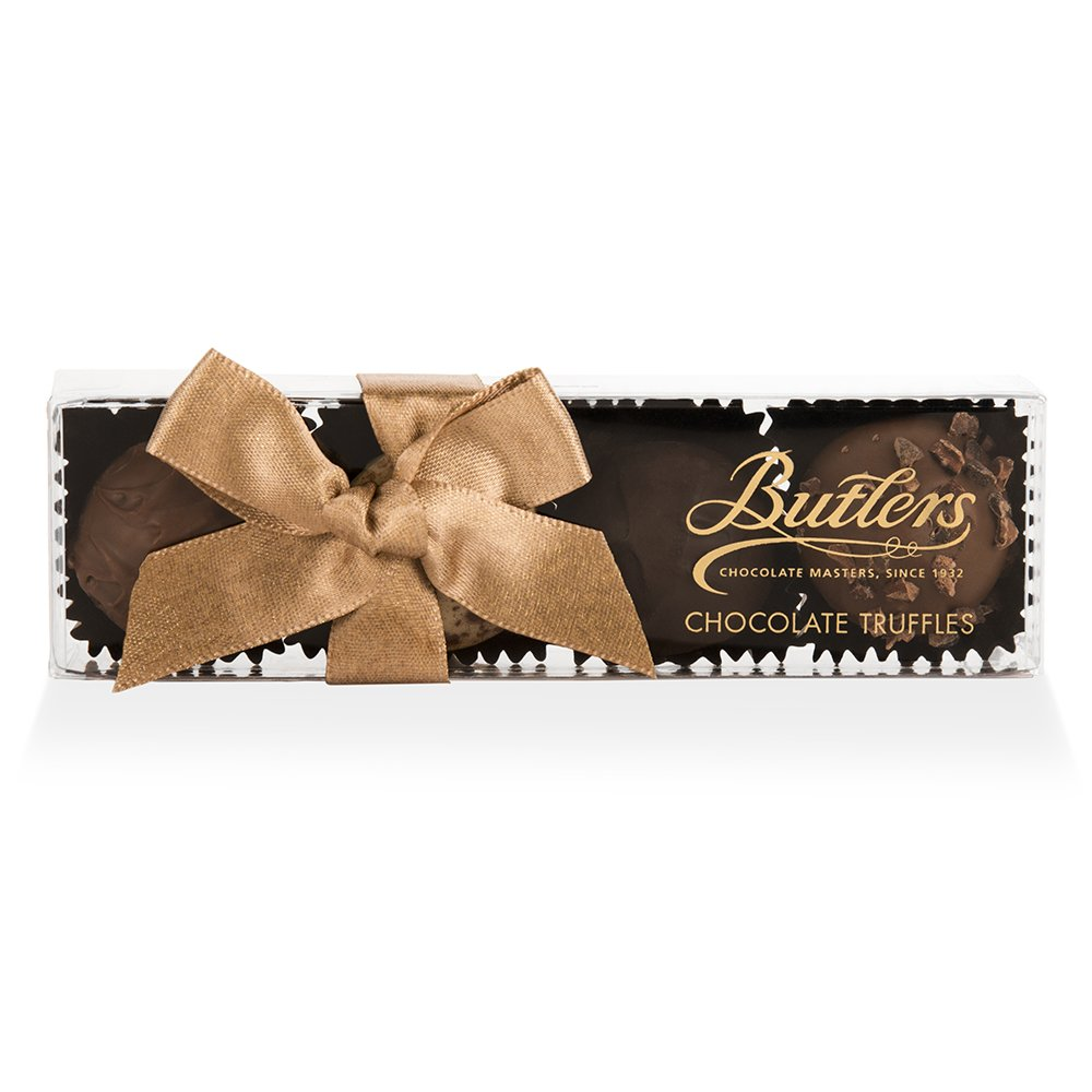 Four Chocolate Truffle Wedding Favour
