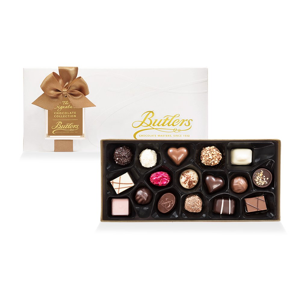 Medium Embossed Signature Assortment, with 18 Chocolates