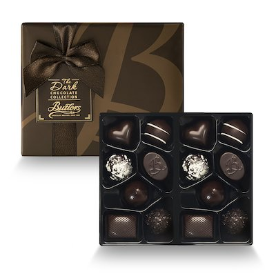 Large Dark Chocolate Ballotin