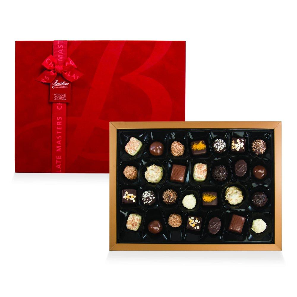 Butlers Large Red Velvet Presentation Box