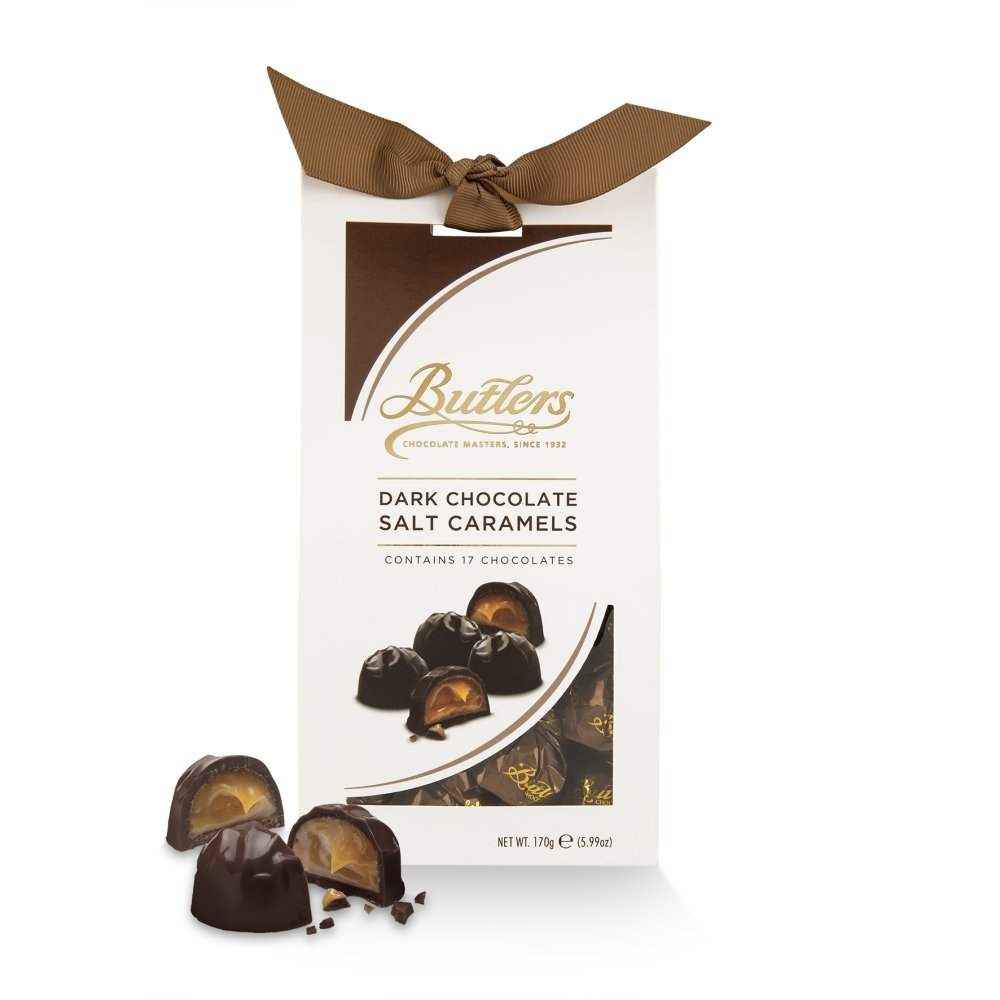 Butlers Dark Chocolate Salt Caramels