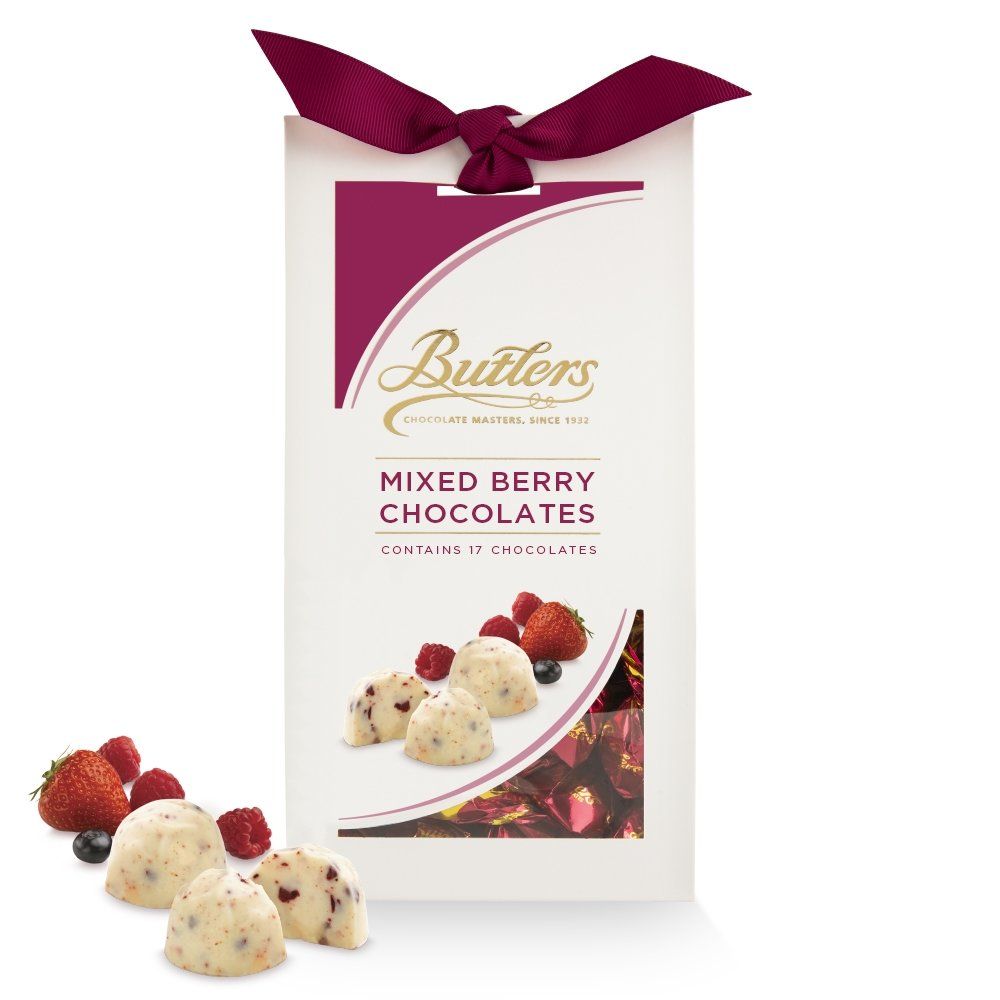 White Mixed Berry Chocolates