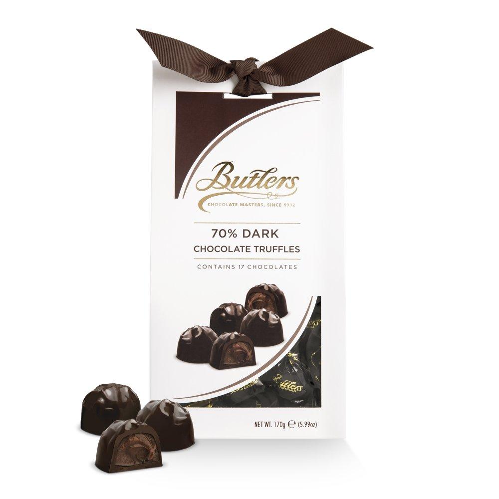 70% Dark Chocolate Truffle Twist wraps