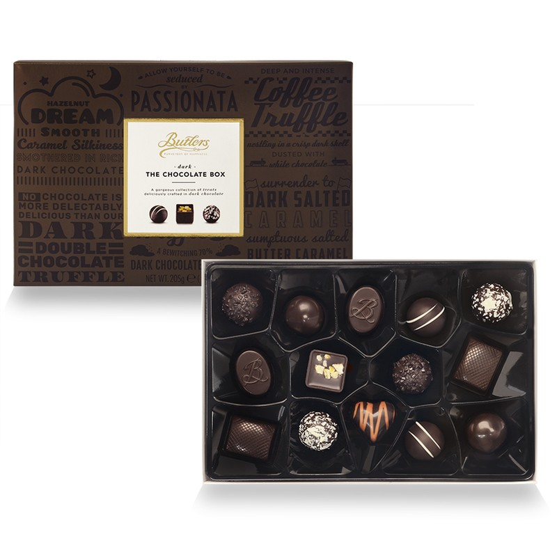 The Dark Chocolate Box by Butlers