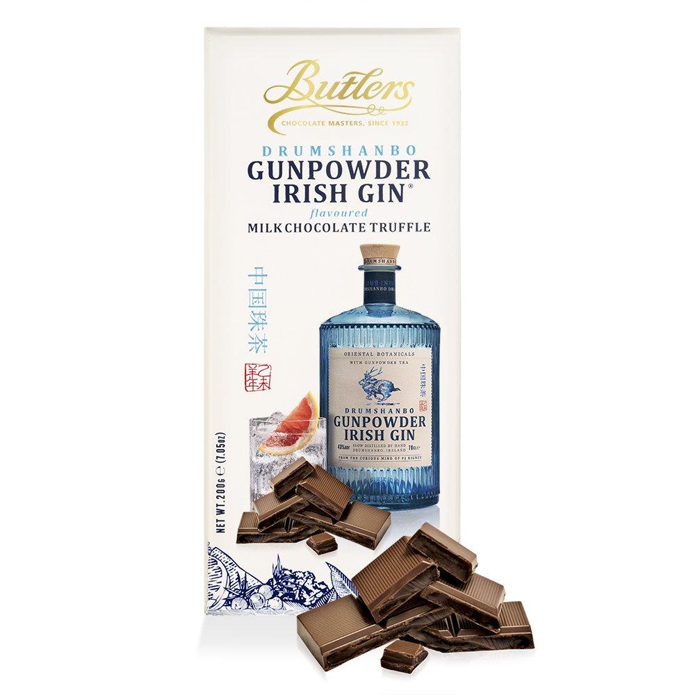 Large Drumshanbo Gunpowder Irish Gin® Chocolate Truffle Bar