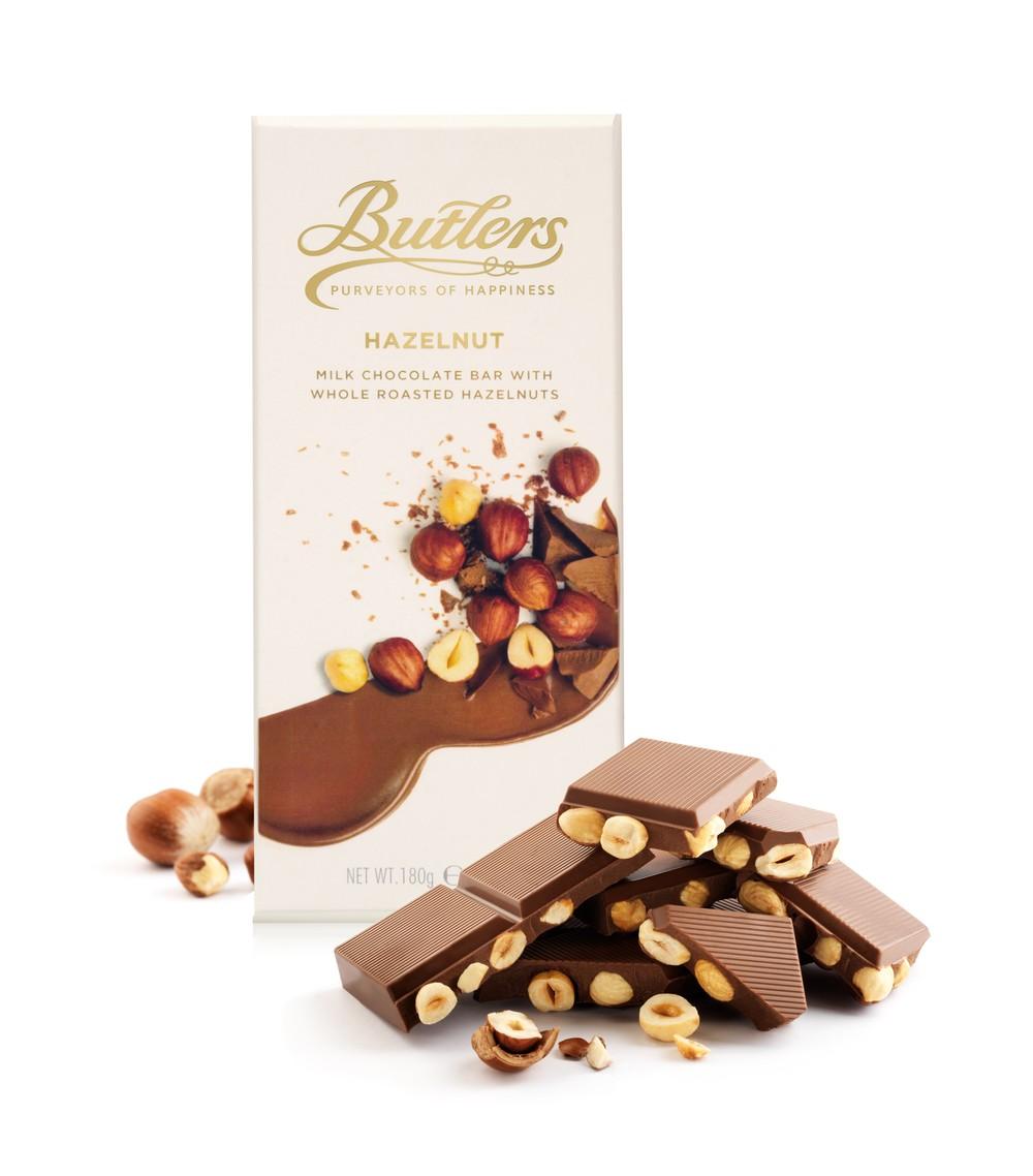 Large Milk Chocolate with Whole Hazelnuts Bar