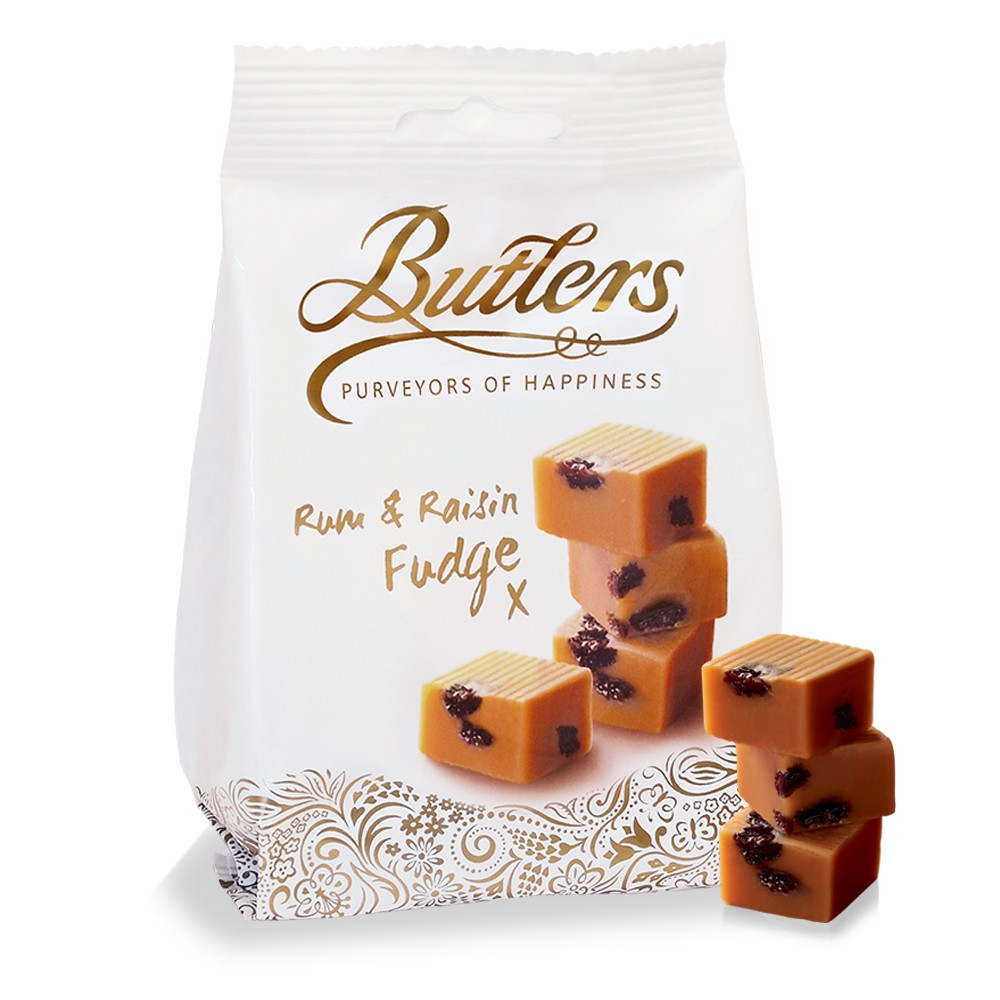 Rum and Raisin Fudge Bag (x6)