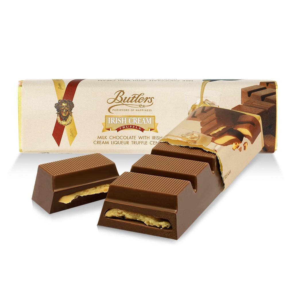 Butlers Milk Chocolate Irish Cream Truffle Bar, Pack of 12 Bars