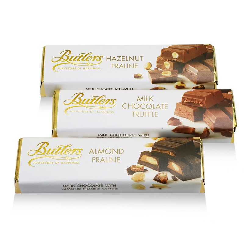 Butlers Assorted Chocolate Bar Selection, Pack of 12