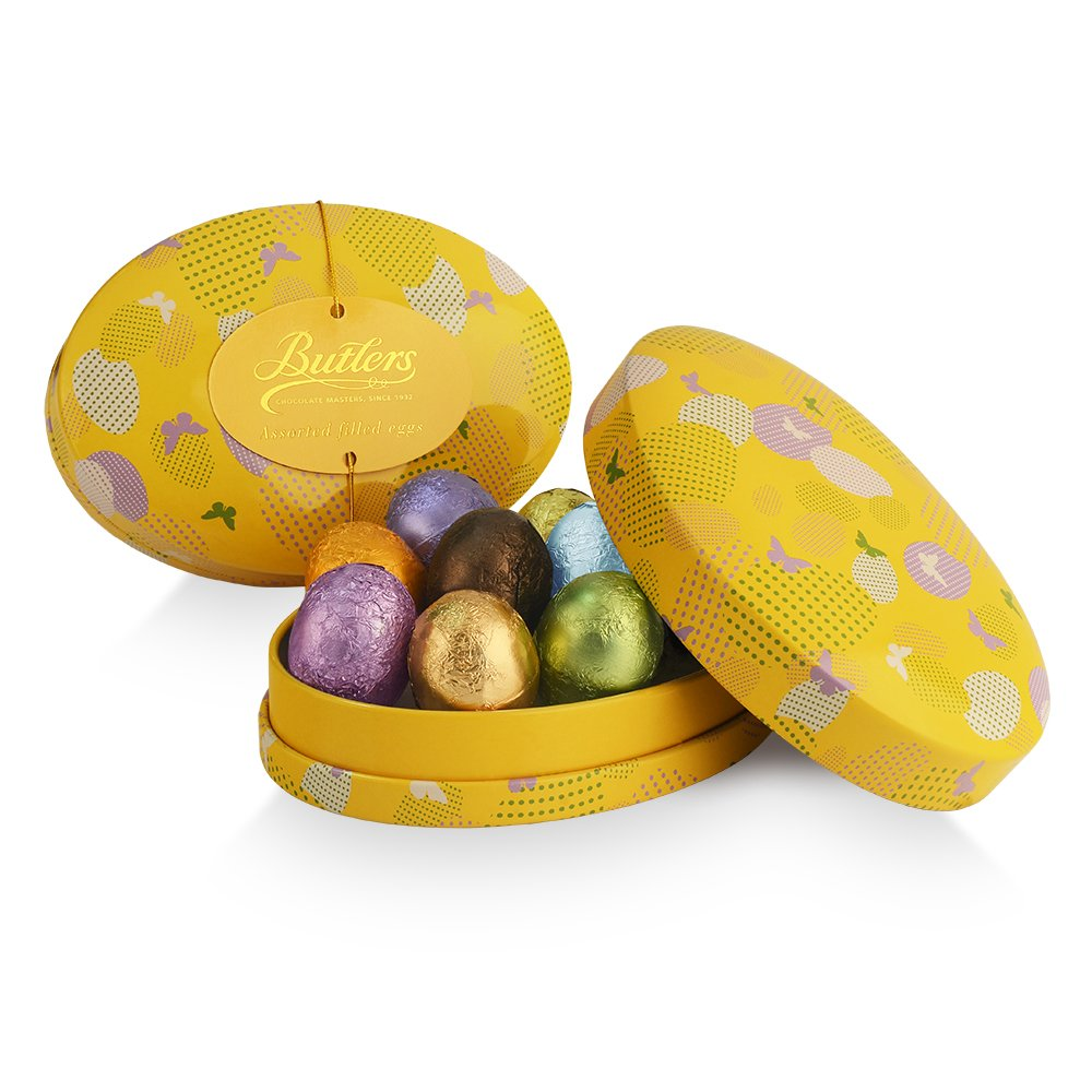 Oval Easter Egg Tin