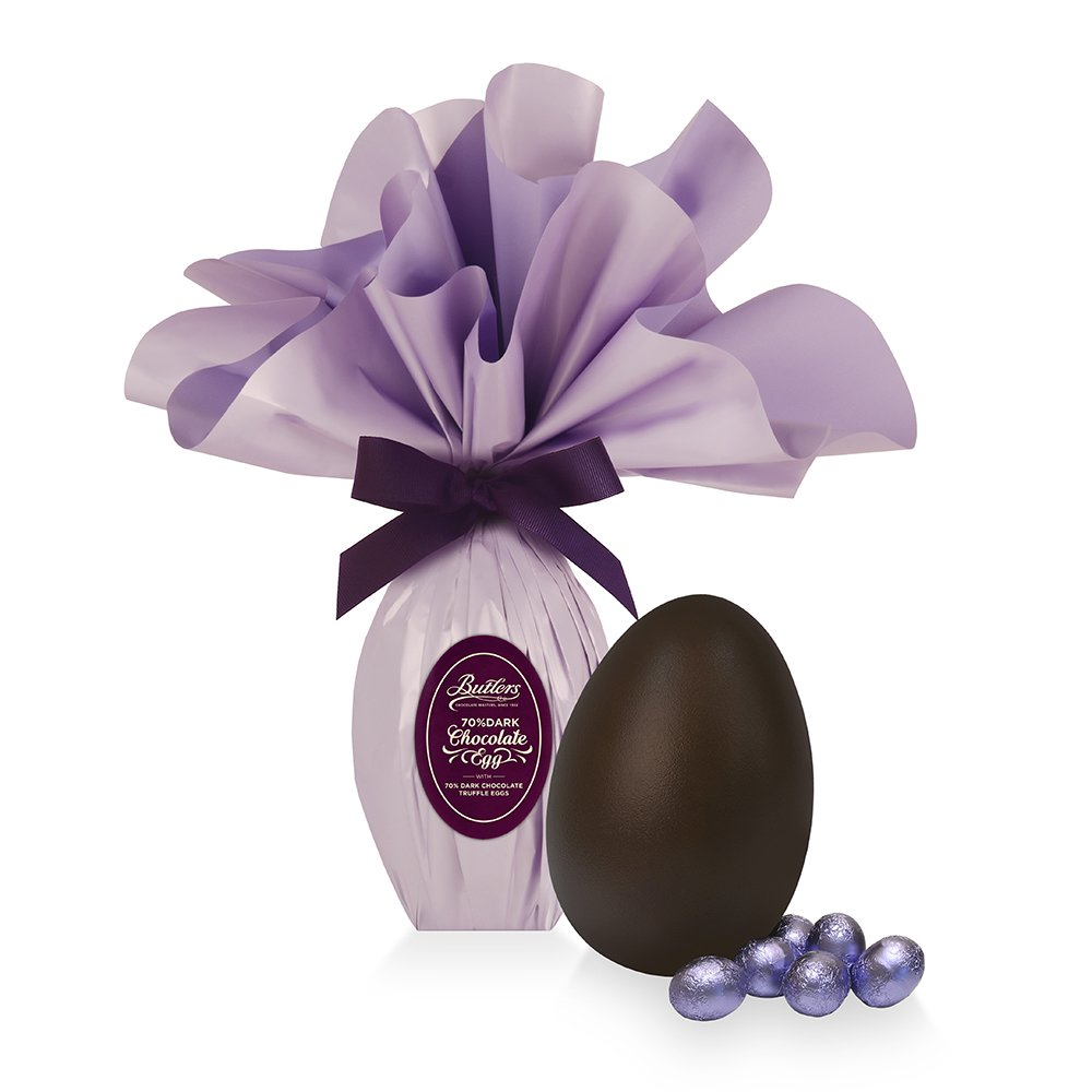 Dark Chocolate Medium Wrapped Easter Egg