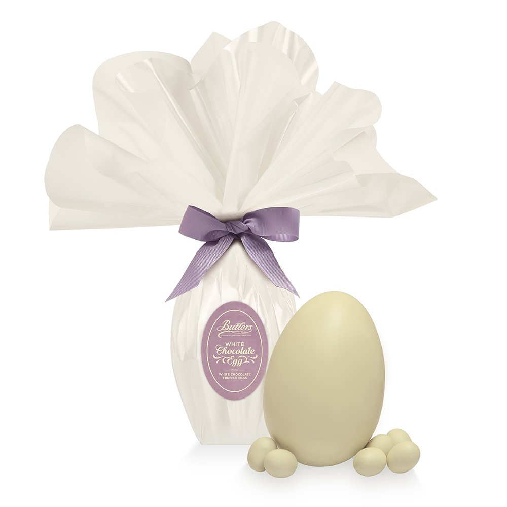 White Chocolate Wrapped Egg