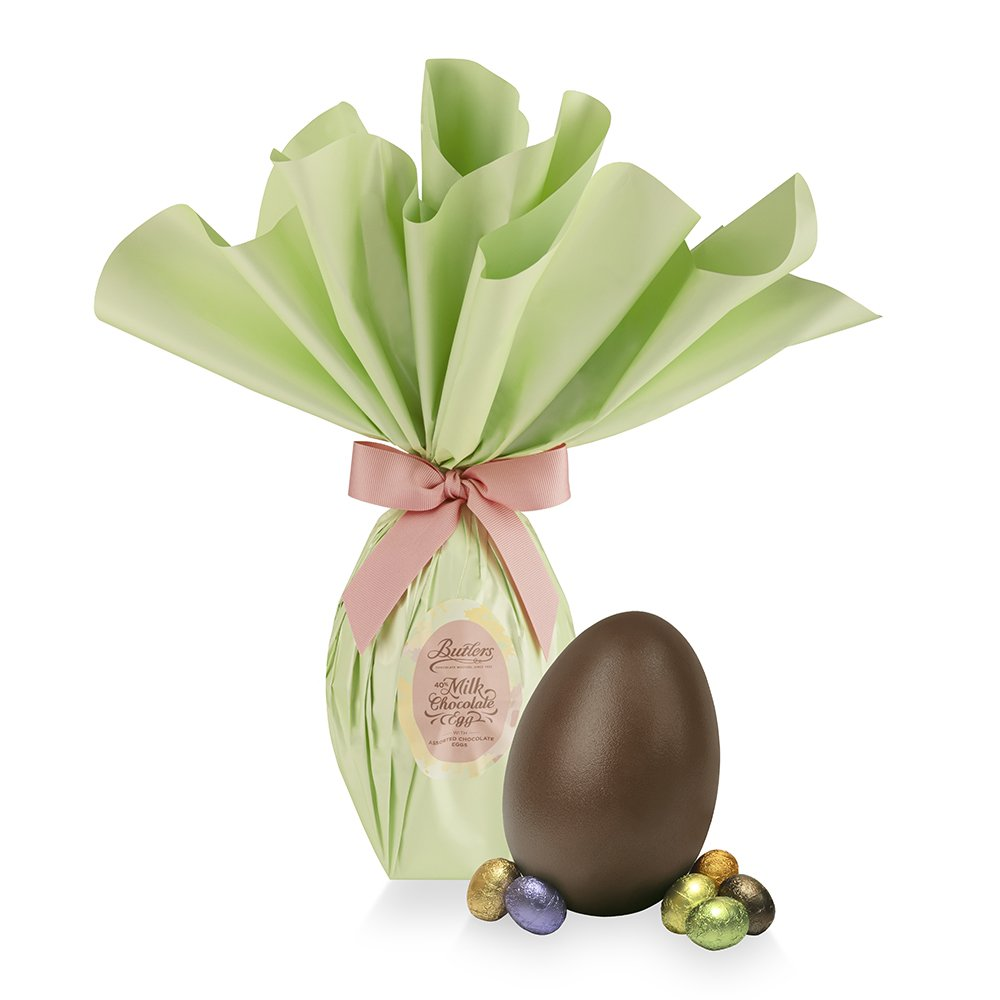 Milk Chocolate Medium Wrapped Easter Egg