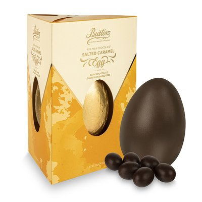 Milk Chocolate Salted & Salted Caramel Egg