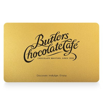 Butlers Chocolates Gift Card
