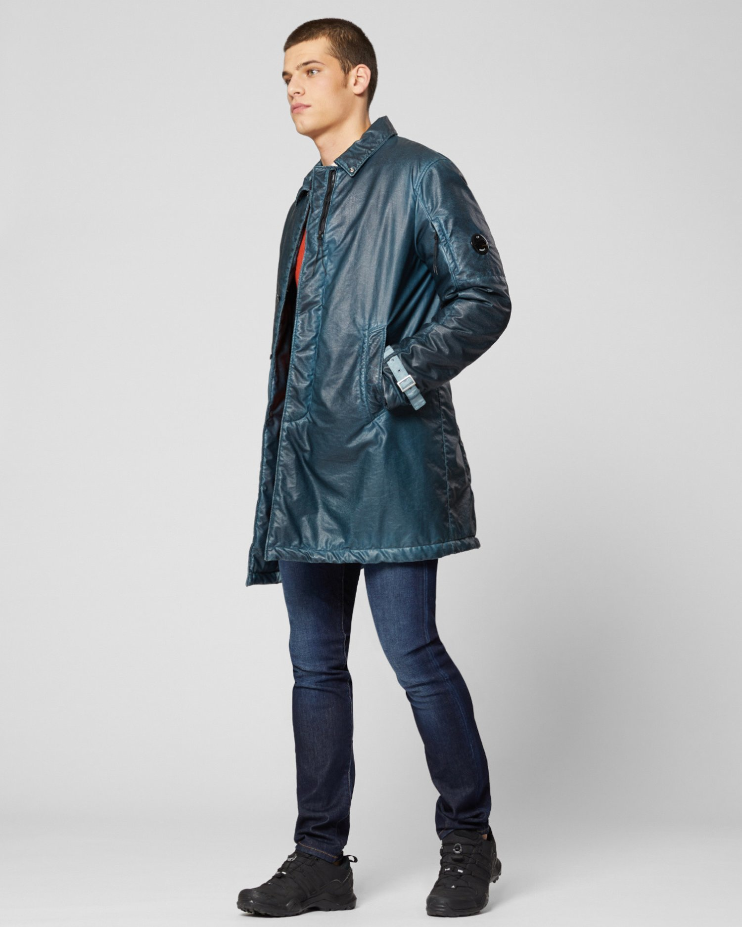 Nyber Special Dyed Car Coat