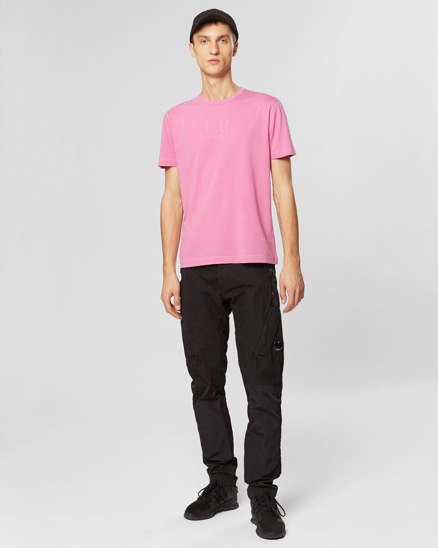 Camiseta de cuello redondo de punto Re-Colour