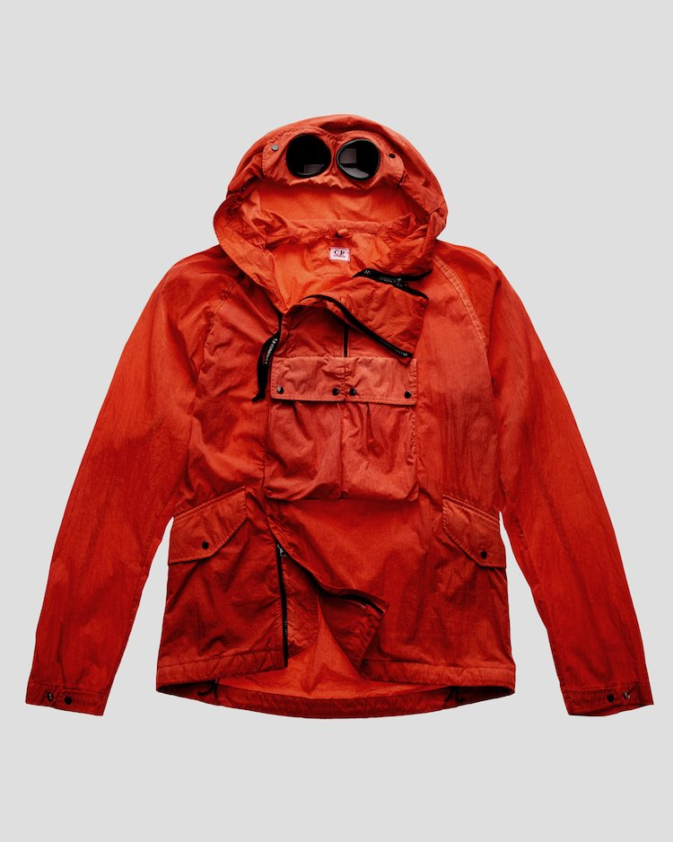 Chrome Re-Colour Goggle Jacket in Poinciana
