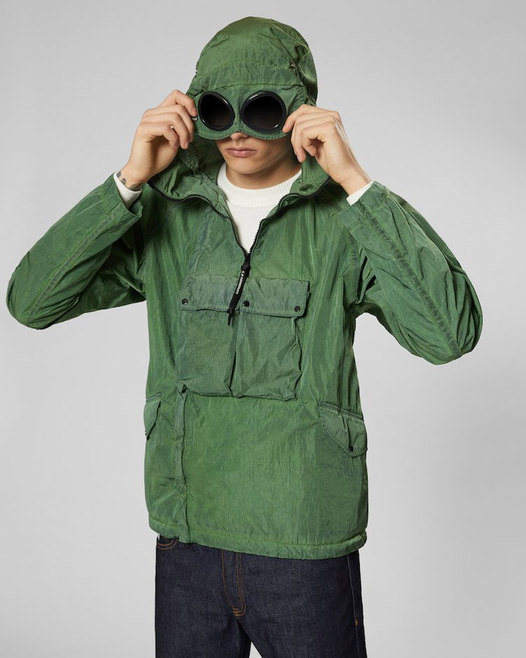 Chrome Re-Colour Goggle Jacket in Light Green
