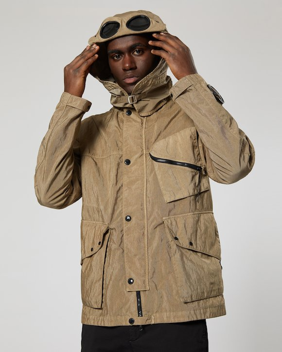 Quartz Goggle Jacket in Kelp