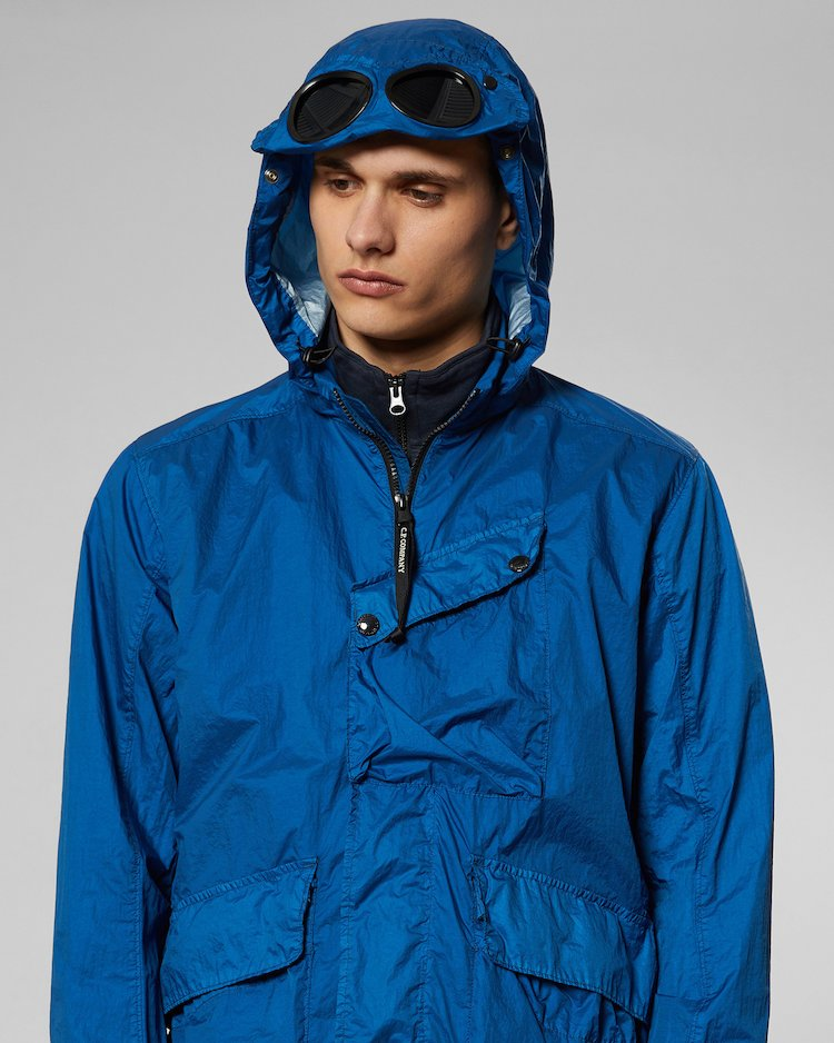 NyFoil Goggle Jacket in Moroccan Blue