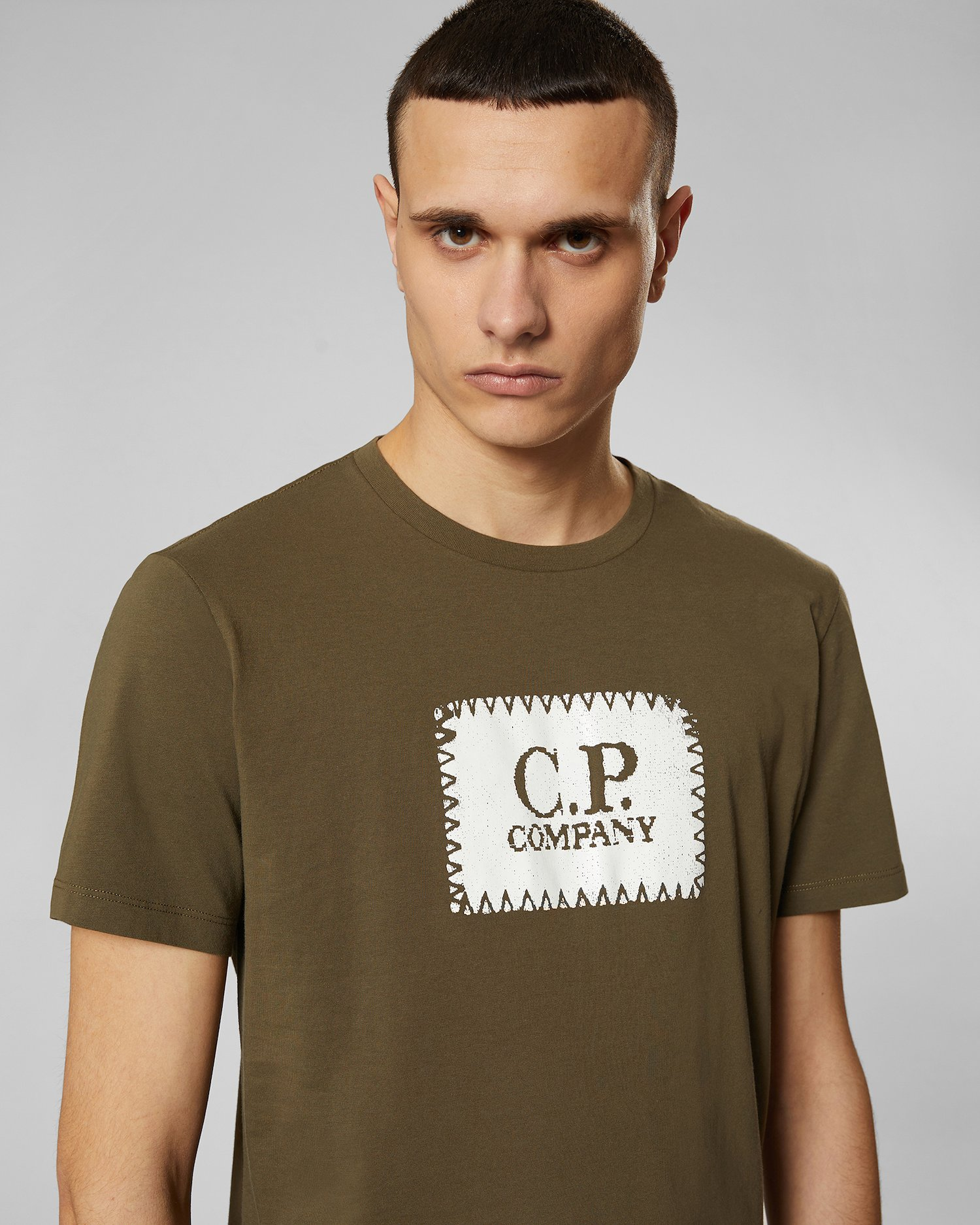 T C Crew Label Company Print 301 Beech p Online Shirt In Jersey nHATIqH