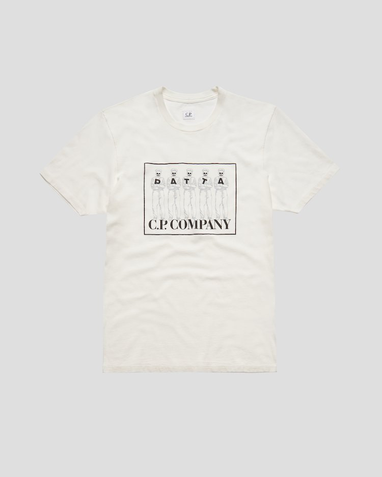 Jersey 20/1 S/S Tee in Gauze White