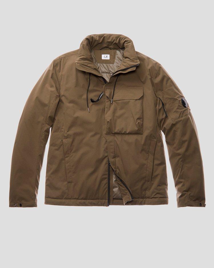 Миди-куртка Pro-Tek с деталью в виде линзы