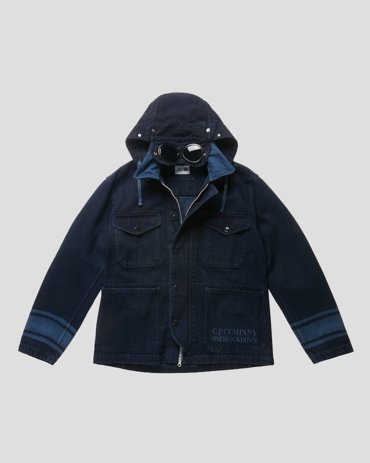 Denim 14 3/4 OZ Work Jacket in Blue Denim