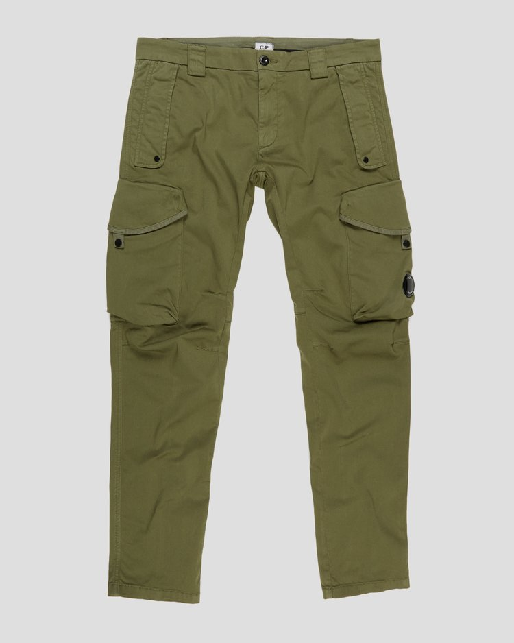 Garment Dyed Stretch Sateen Tactical Pants