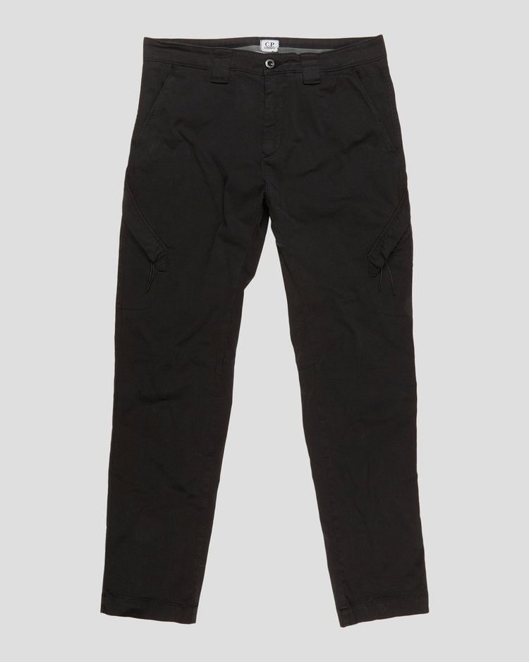 Garment Dyed Stretch Sateen Adjustable Pants
