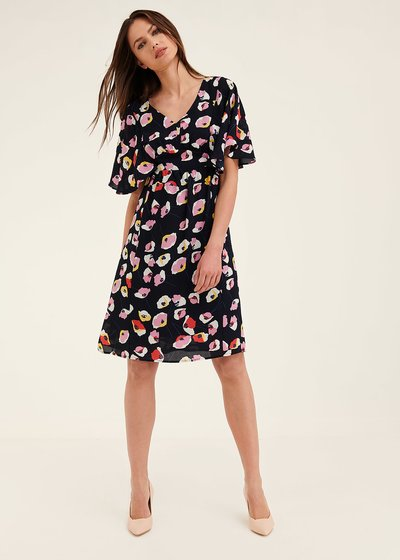 Alys floral patterned dress