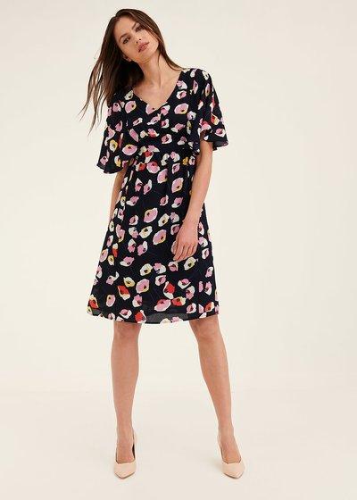 Alys floral patterned dress