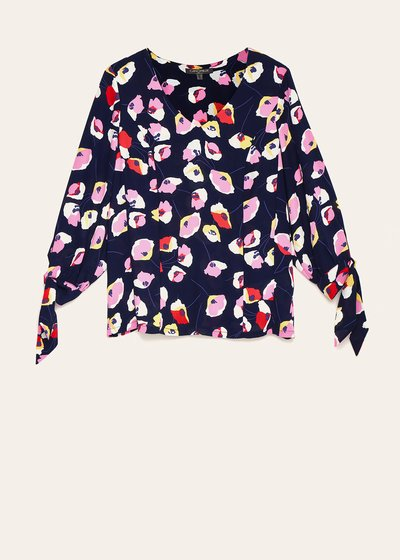 T-shirt Salys fantasia floreale