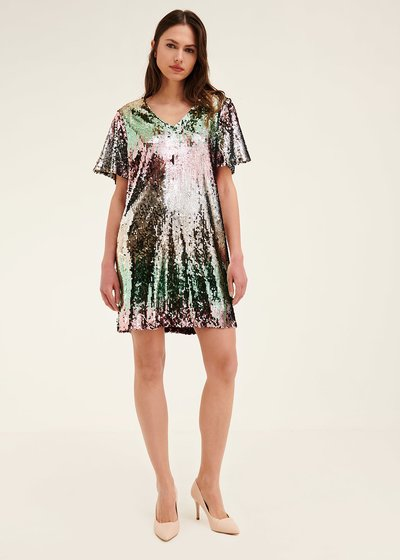 Angel sequined dress