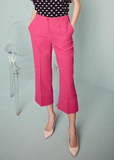 Pantalone Sara con bordo a contrasto