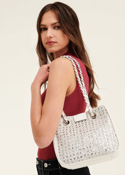 Shopping bag Bayr con lurex