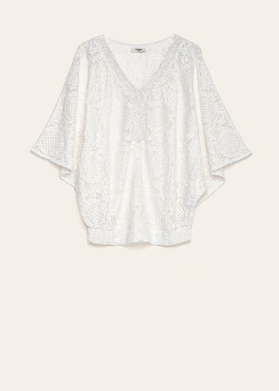Cadyd cotton lace blouse