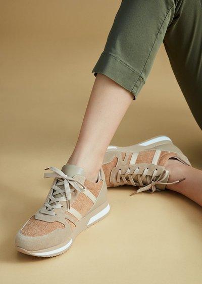 Scarpa ginnica Sharon lacci bianchi