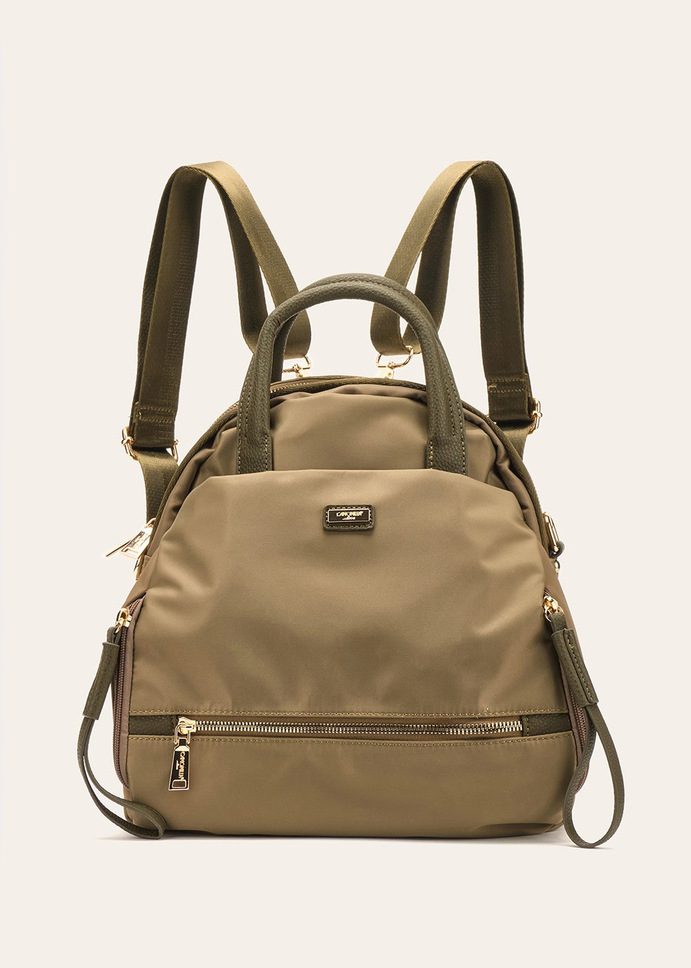 Beth nylon backpack - Green - Woman