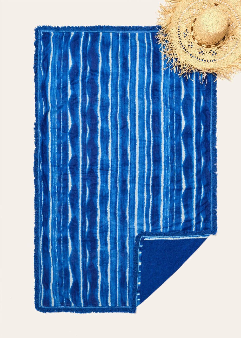 Thiago cotton and terrycloth beach towel - Nettuno - Woman