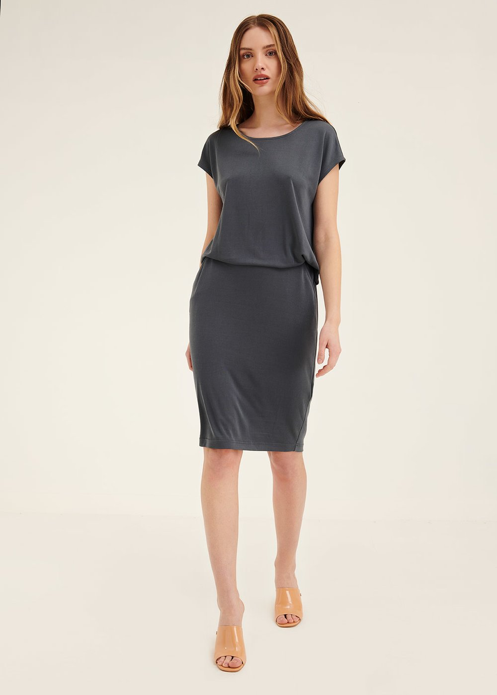 Alison modal jersey dress - Vulcano - Woman