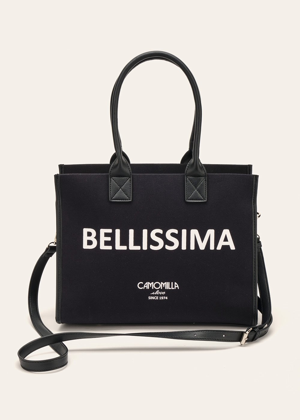 Shopping bag Bellissima - Black - Donna