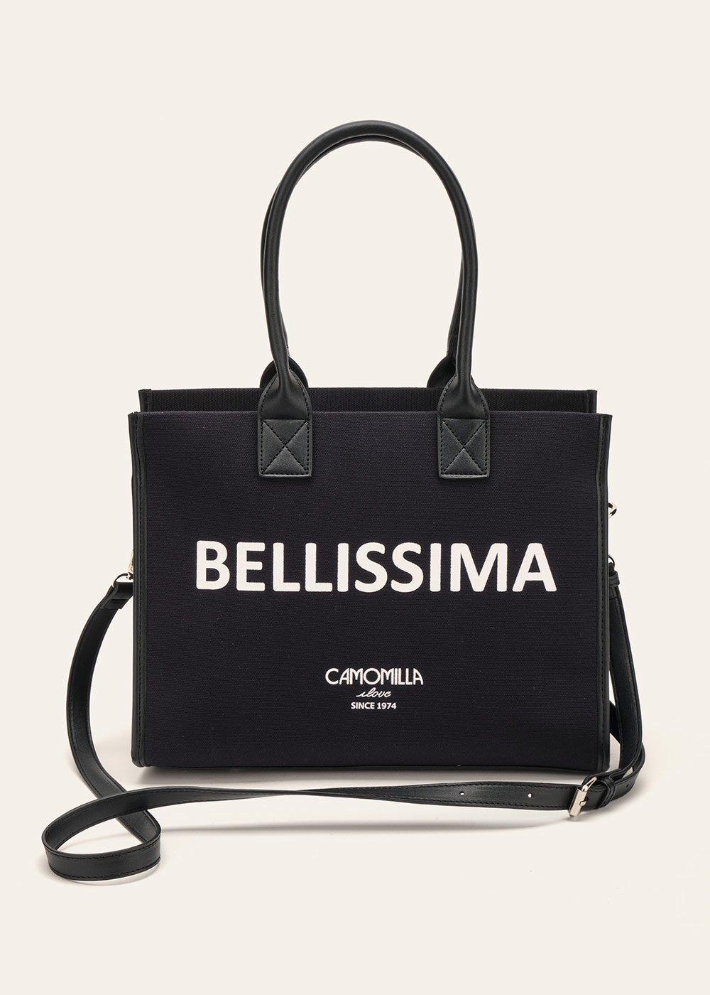 Bellissima shopping bag - Black - Woman