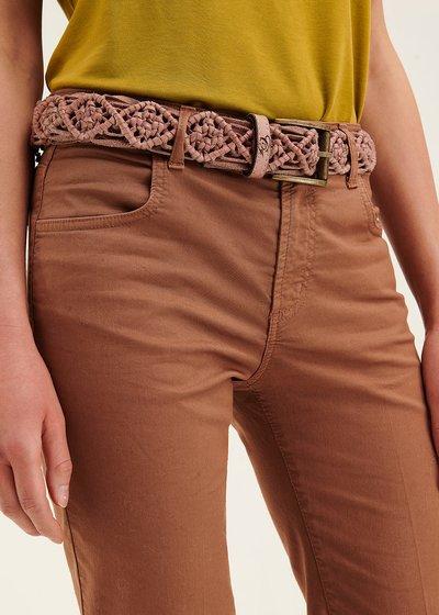 Carly genuine leather belt