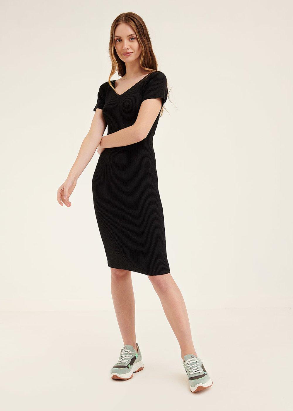 Adam sheath dress - Black - Woman