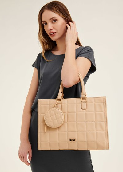 Betty semi-rigid shopping bag